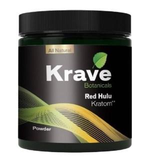 KRAVE RED HULU KRATOM 120G