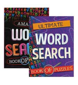 BAZIC #13501 FINE WORD/PUZZLE BOOK LG PR