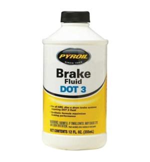 BRAKE FLUID #20110PT DOT 3
