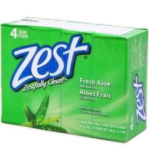 ZEST BAR SOAP #1081 FRESH ALOE