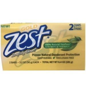 ZEST BAR SOAP #1410 GOLD