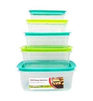 FOOD CONTAINER #IN14891P PRINTED
