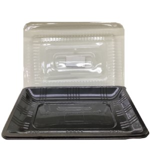 DISPOSABLE TRAY #61415 W/LID SERVING FAMILY MAID