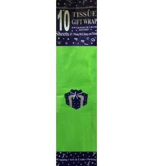 TISSUE PAPER KH #86984 LT GREEN
