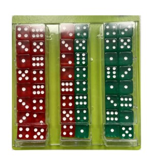 DICE ON BOARD #22614 CLEAR