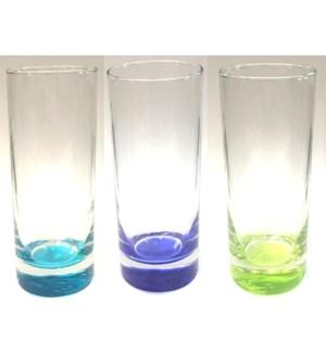 BEVERAGE GLASSES #13058 ASST