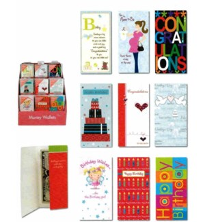 IG53322 MONEY WALLETS/EVERY DAY PRINT