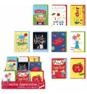 IG53325 TEACHERS APPRECIATION CARD