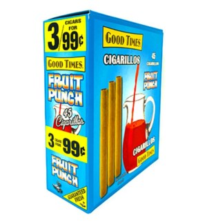 GOOD TIMES CIGARS FRUIT PUNCH 3FOR $0.92