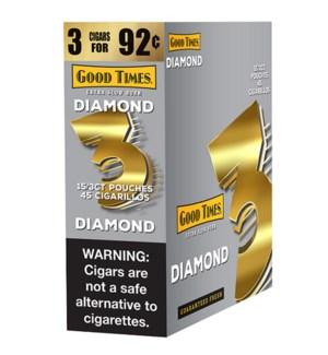 GOOD TIMES CIGARS DIAMOND 3FOR $0.92