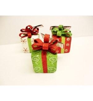 CH-MAS #53078613Y GLITTER BOX W/BOW