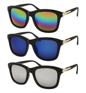 SUNGLASSES #GY3066 CAT EYE, OVER SIZE