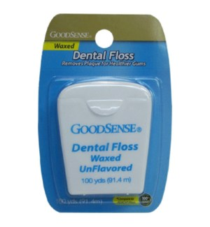 GOOD SENSE #04410 FLOSS WAXED UNFLAVORED
