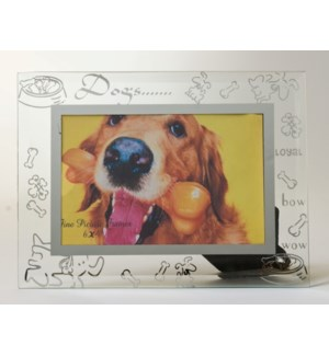 GLASS FRAME #6442 DOG DESIGN