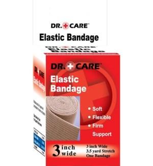 "DR. CARE #7012 3"" ELASTIC BANDAGE"