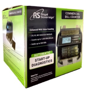 MONEY BILL COUNTER MACHINE, COMMERCIAL