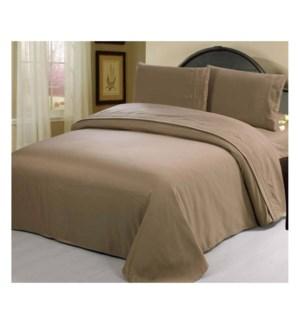 DT NYAH'S BED SHEET SET BEIGE/KING