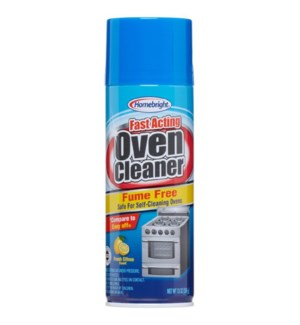 HOME BRIGHT SPRAY #1518 OVEN CLEANER FUME FREE