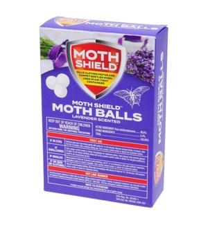 MOTH SHIELD BALLS #39561 LAVENDER SCENTED