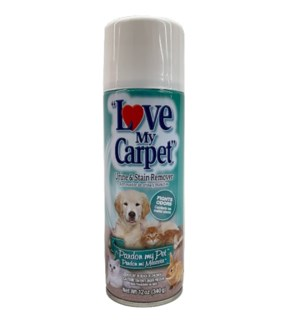 LOVE MY CARPET SPRAY #39592 URINE STAIN REMOVER