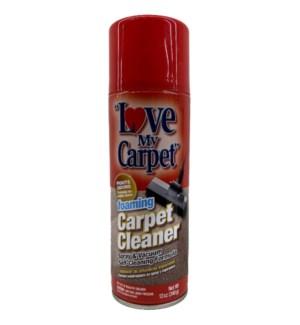 LOVE MY CARPET SPRAY #39593 FOAMING CARPET CLE