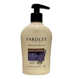 YARDLEY BODY LOTION #67461 ENGLISH LAVENDER