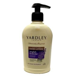 YARDLEY HAND LOTION #667467 ENGLISH LAVENDER