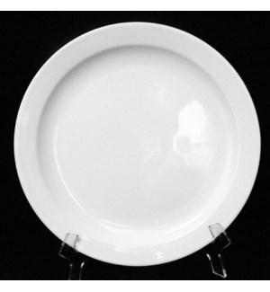 DINNER PLATE #L17431 WHITE, CERAMIC