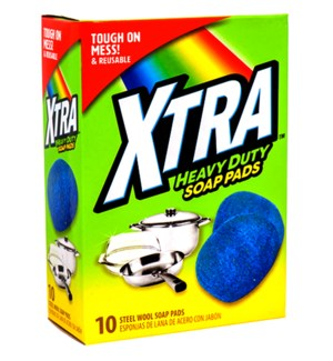 XTRA SOAP PADS #750 STEEL