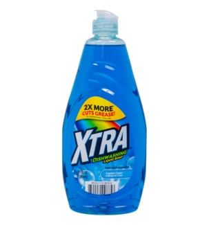 XTRA DISH SOAP #785 CRYSTAL CLEAN LIQUID