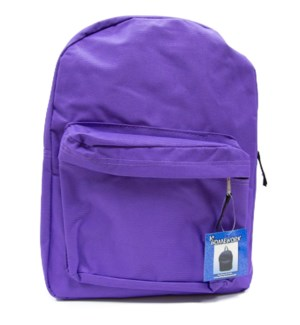 UC-2105 BACK PACK PURPLE