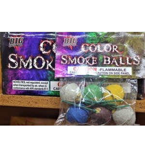 FW #BF1212 COLOR SMOKE BALLS