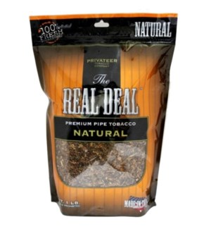 REAL DEAL #405 NATURAL PIPE TOBACCO
