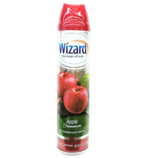 WIZARD SPRAY #842 APPLE CINNAMON AIR FRESHENER
