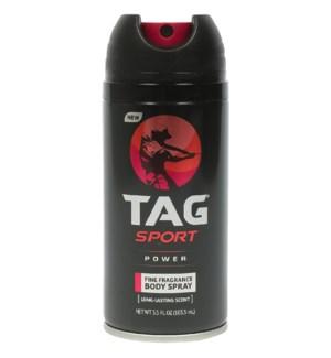 TAG #00879 POWER BODY SPRAY