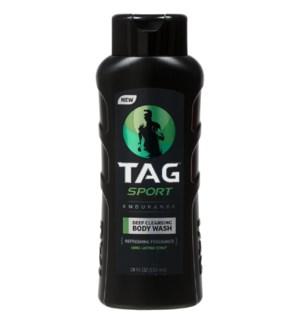TAG SPORT BODY WASH #00885 ENDURANCE