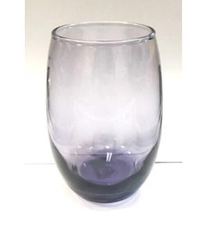 WINE GLASSES #08173 STEMLESS PURPLE