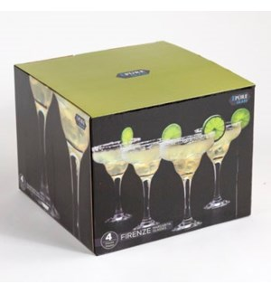 MARGARITA GLASSES #66581 4PC SET
