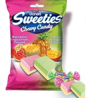SWEETIES #7980 ASST CHEWY CANDY