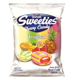 SWEETIES #8149 CHEWY TROPICAL CANDY