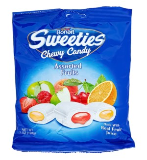 SWEETIES #8147 CHEWY ASST FRUITS CANDY