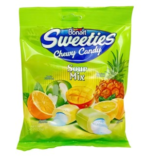 SWEETIES #8510 SOUR MIX FILLED CHEWS