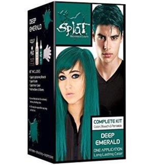 SPLAT #02021 DEEP EMERALD HAIR COLOR