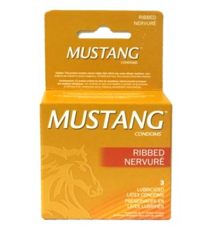 MUSTANG GOLD LUBRICATED CONDOM
