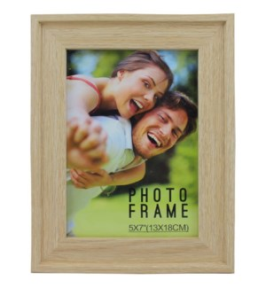 PICTURE FRAME NATURAL WOOD #1B-5
