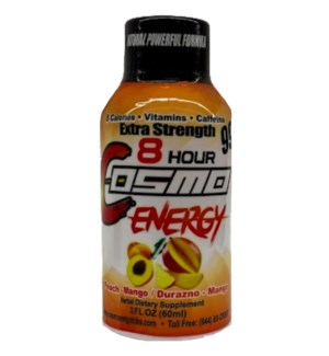 COSMO #601 PEACH 8-HOUR ENERGY DRINK