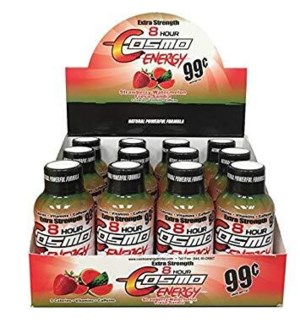 COSMO #607 STRAWBERRY 8-HOUR ENERGY DRINK