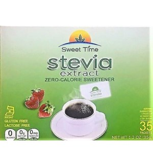 SWEET TIME #STS001 STEVIA EXTRACT