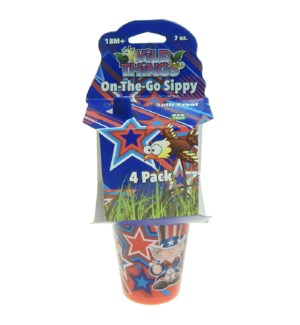 USA SIPPY CUP #00008 WILD THINGS