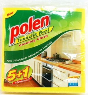 POLEN #2465 CLEANING CLOTH, YELLOW